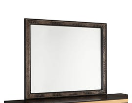 Global Furniture Textured Large Chocolate Mirror