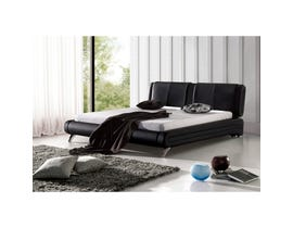 Sinca Moderato Queen Platform Bed in black