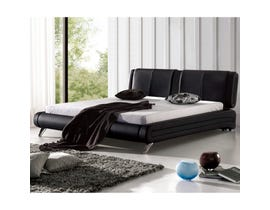 Sinca Moderato King Platform Bed in black