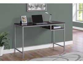Monarch Metal Computer Desk in Cappuccino 17369