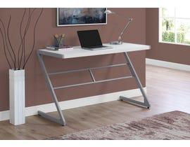 Monarch Metal Computer Desk in White 17372