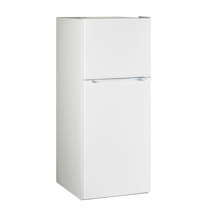 Moffat 24 inch 11.55 Cu. Ft. Top-Freezer No-Frost Refrigerator in white MPE12FGKWW