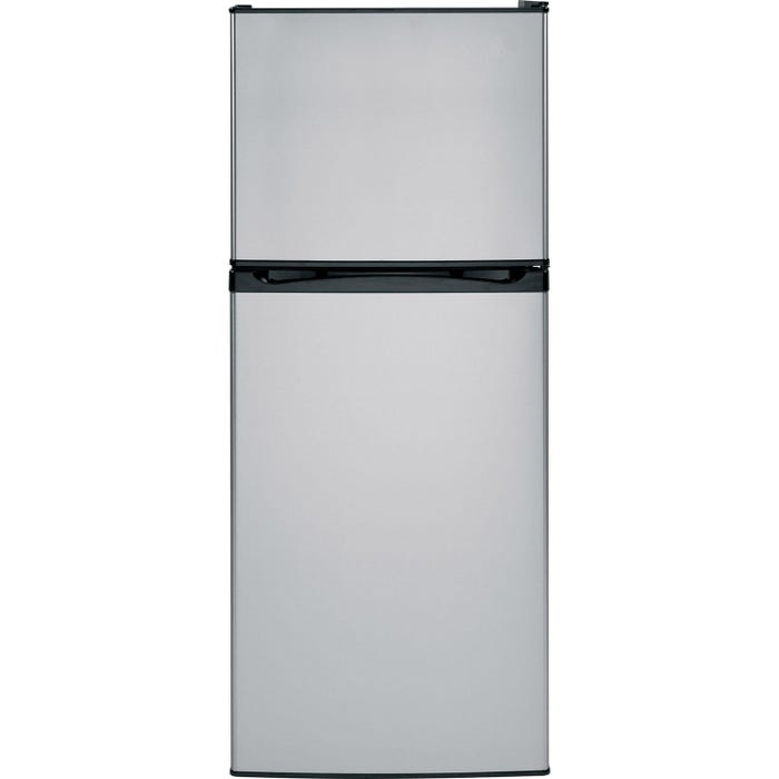 Moffat 24 inch 11.55 cu.ft. Top Mount Refrigerator with No Frost in stainless steel MPE12FSKSB