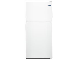 "Maytag 33"" 21 cu. ft. Top Freezer Refrigerator with PowerCold Feature in White MRT311FFFH"