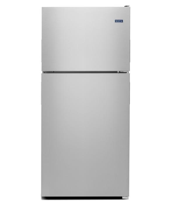 Maytag 33 inch 21 cu.ft. wide top freezer refrigerator with POWERCOLD MRT311FFFZ