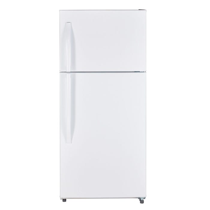 Moffat 30 inch 18 cu.ft. Top Mount Refrigerator with No Frost in white MTE18GTKWW