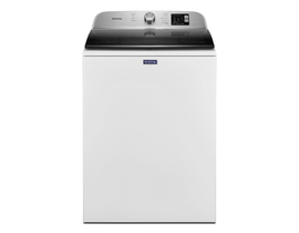 Maytag 27 inch 5.5 cu. ft. Top Load Washer in White MVW6200KW