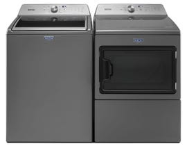 Maytag large capacity top load laundry pair MVWB765FC/YMEDB765FC