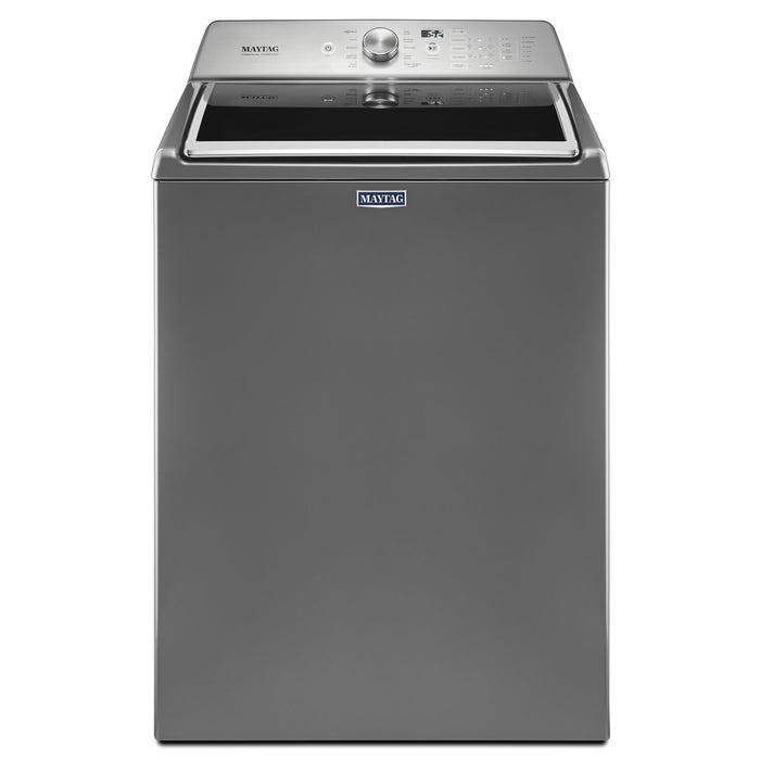 Maytag 28 inch 5.4 cu.ft. top load with PowerWash cycle washer in slate MVWB765FC