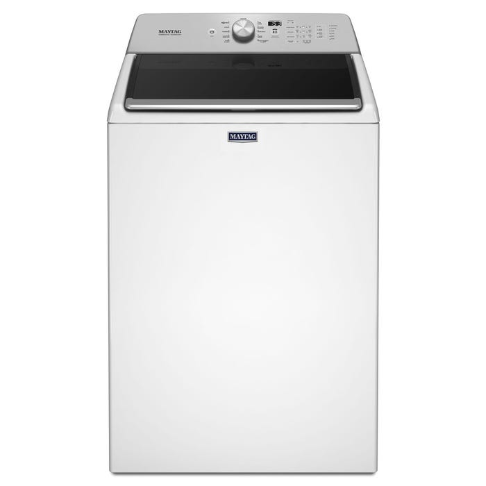 Maytag 5.4 cu.ft. top load washer with PowerWash cycle in white MVWB765FW
