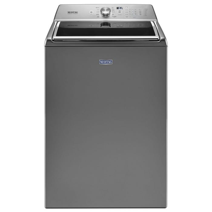 Maytag 27 inch 6.0 cu.ft. Top Load Washer with PowerWash Cycle in metallic slate MVWB865GC
