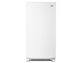 Maytag 18 cu. ft. Upright Freezer with LED Lighting in White MZF34X18FW