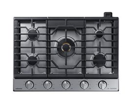 "Samsung 30"" Chef Collection Gas Cooktop in Stainless Steel NA30N9755TS"