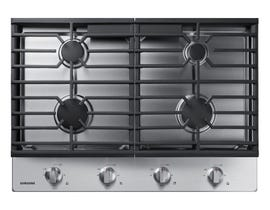 "Samsung 30"" Gas Cooktop in Stainless Steel NA30R5310FS"