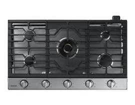 "Samsung 36"" Gas Cooktop with 22K BTU Dual Burner in Stainless Steel NA36N7755TS"