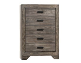 NATHAN 5 Drawers Grey Finish CHEST NH100CH