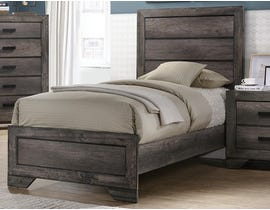 High Society Nathan Series Youth Bed in Grey Oak NH100
