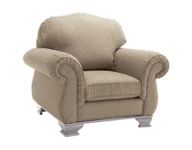 Decor-Rest Fabric Chair in National Camel 6933
