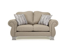 Decor-Rest Fabric Loveseat in Nation Camel 6933