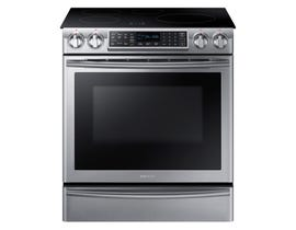 Samsung 30 inchh 5.8 cu.ft. Induction Range with Virtual Flame Technology in stainless steel NE58K9560WS