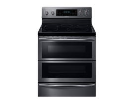 Samsung 30 inch 5.9 cu. ft. Electric Range with Flex Duo in black stainless NE59J7850WG