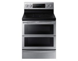 Samsung 30 inch 5.9 cu. ft. Electric Range with Flex Duo in stainless steel  NE59J7850WS