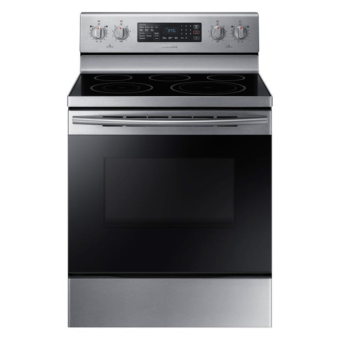 Samsung 30 inch 5.9 cu. ft. Freestanding Electric Range in Stainless steel NE59M4320SS