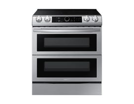 Samsung 30 inch 6.3 cu. ft. Electric Range with Air Fry in Stainless Steel NE63T8751SS