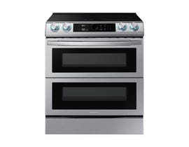 Samsung 30 inch cu. ft. Dual Door Smart Induction Range with Air Fry in Stainless Steel NE63T8951SS