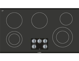Bosch 30 inch 5-element smooth top electric cooktop 500 series in black NEM5666UC