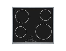 Bosch 500 Series 24 inch 4-ElementElectric Cooktop in Black NET5466SC