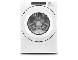 Amana 27 Inch 4.3 cu. ft. Front Load Washer in White NFW5800HW
