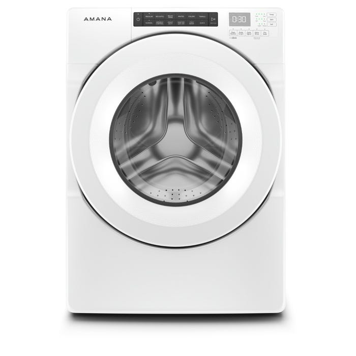 Amana 27 Inch 4.3 Cu.FT 14 Cycles Front Load Washer NFW5800HW