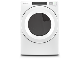 Amana 7.4 cu. ft. Front Load Gas Dryer in White NGD5800HW