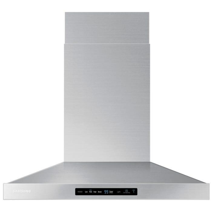 Samsung 30 inch Wall Chimney Range Hood in stainless steel NK30K7000WS