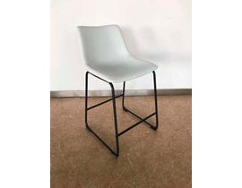 Signature Design by Ashley Centiar Series Upholstered Barstool in White D372-724