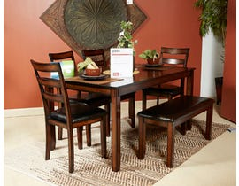 Signature Design by Ashley Dining Room 6-piece dining Table Set D385-325