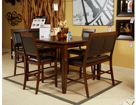 Signature Design by Ashley 5pc Dining Counter Table Set D395-323