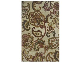 Signature Design by Ashley Large Rug Jamelia Green Cream R400751