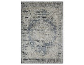Signature Design by Ashley Large Rug South Blue Tan R402721
