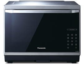 Panasonic 19 7/16 inch 1.2 cu.ft. Combination Oven Convection / Steam / Microwave / Grill in stainless steel NNCS896S