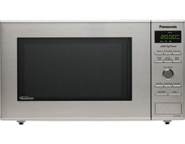 Panasonic 20 inch 0.8 cu.ft. Compact Microwave Oven in stainless steel NNSD382S