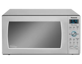 Panasonic Family Size 22 inch 1.6 cu.ft. Cyclonic Inverter Countertop or Built-in Microwave in Stainless Steel NNSD786S