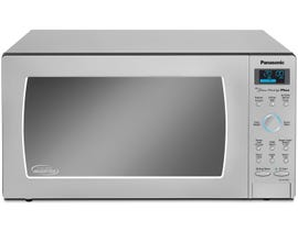 Panasonic Family Size 22 inch 1.6 cu.ft. Countertop Microwave Oven in Stainless Steel NNSE796S