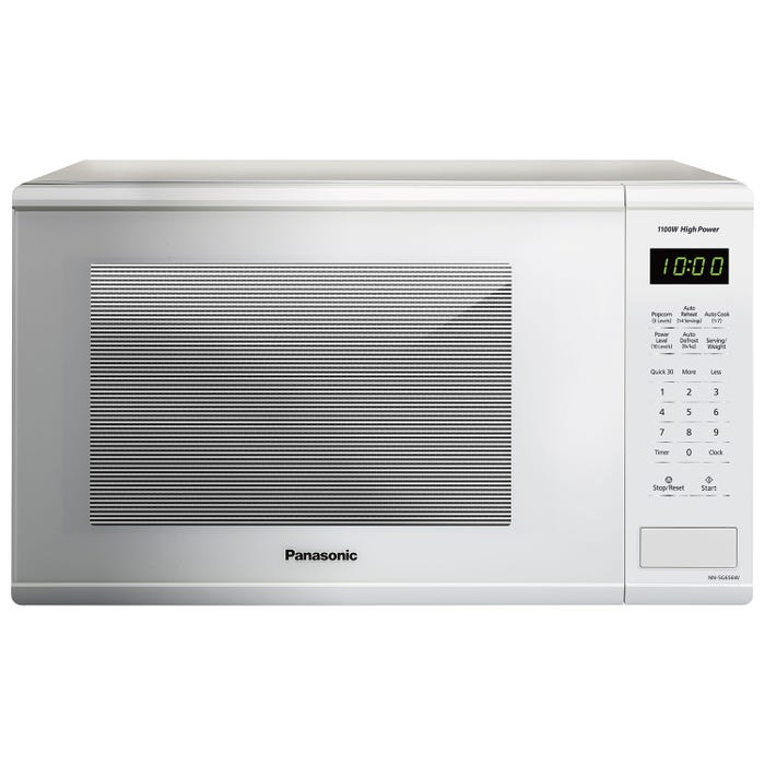 Panasonic 20 1/2 inch 1.3 cu. ft. countertop Microwave  in White NNSG656W