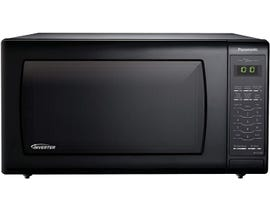 Panasonic 20 inch 1.6 cu.ft. Genius Inverter Countertop Microwave Oven in Black NNST766B