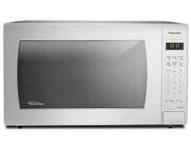 Panasonic 24 inch 2.2 cu.ft.Countertop Microwave Oven with Sensor Cooking in White NNST966W