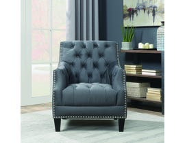 High Society Norwalk Series Accent Chair in Charcoal 668