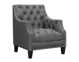High Society Norway Series Accent Chair in Charcoal 668