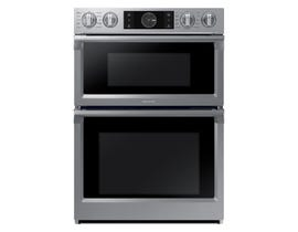 "Samsung 30"" Microwave Combination Wall Oven with Flex Duo in Stainless steel NQ70M7770DS"